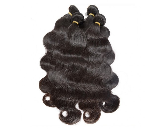 4pcs/lot Virgin Peruvian Hair Weave Bundles Body Wave PD0020