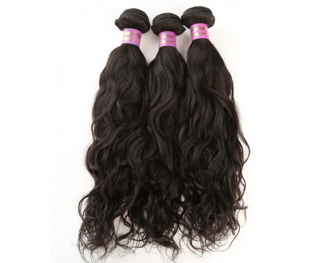 4pcs/lot Virgin Malaysian Hair Weave Bundles Water Wave MD0020