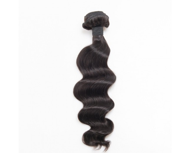100% Cuticle Intact Loose Wave Brazilian Virgin Remy Hair Weave BRC004