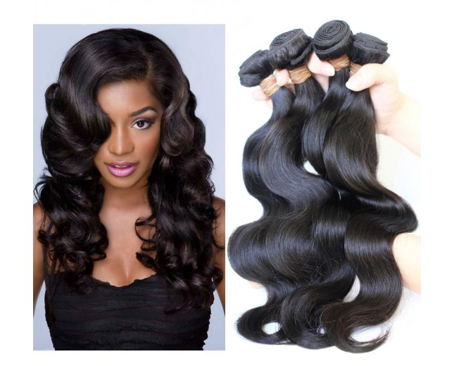 3pcs/lot Body Wave Virgin Malaysian Hair Weave Bundles MD001