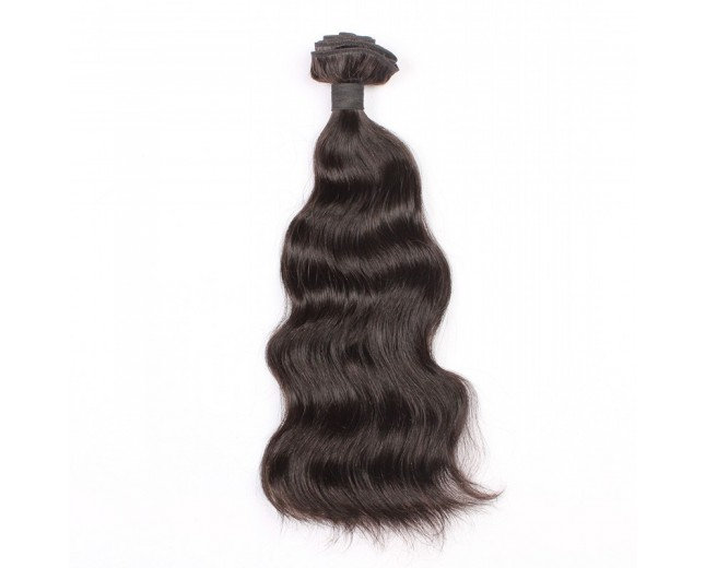 100% Cuticle Intact Natural Wave Brazilian Virgin Remy Hair Weave BRC0011