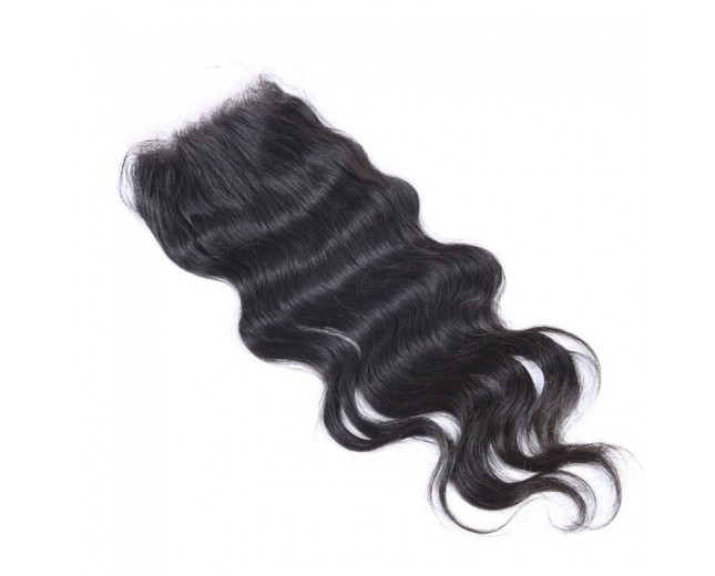 Peruvian Body Wave Virgin Hair 4*4 inch Lace Closure LC0078