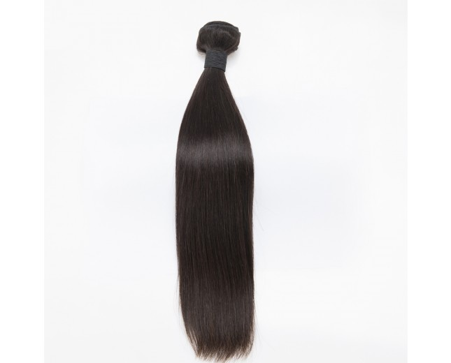 100% Cuticle Intact Straight Brazilian Virgin Remy Hair Weave BRC001