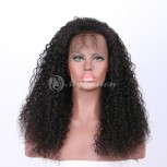 High Density Curly 360 Lace Frontal Wigs 100% Brazilian Hair WJC360