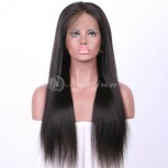 High Density 360 Lace Frontal Wigs 100% Brazilian Hair Straight WST360