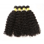4pcs/lot Brazilian Curly Virgin Hair Weave Bundles BD0063