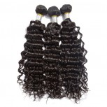 3pcs/lot Deep Wave Virgin Brazilian Hair Mixed Length BD009