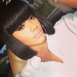 Straight Bob with Bangs 100% Brazilian Human Hair Full Lace Wig FLW0048