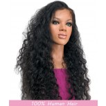 Curly Glueless Full Lace Wigs Brazilian Virgin Hair FLW0036