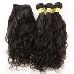 4pcs/lot Brazilian Water Wave Virgin Hair Weave Bundles BD0064