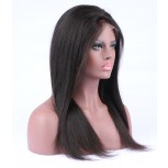 Hot Selling Brazilian Virgin Straight Lace Front Human Hair Wigs LFW0089