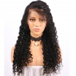 Curly 13x6 Deep Part Lace Front Human Hair Wigs LFW0110