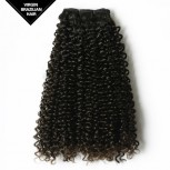 Kinky Curly Double Drawn Brazilian Virgin Hair BRV004