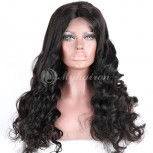 High Density 360 Lace Frontal Wigs 100% Brazilian Hair Loose Wave WLW360