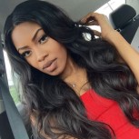 150% Density Body Wave Glueless Full Lace Wigs 100% Human Virgin Hair FLW0010