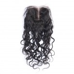 Peruvian Natural Curly Virgin Hair Lace Closure LC0054