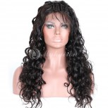 Natural Curl High Density 360 Lace Frontal Wigs 100% Brazilian Hair WNC360