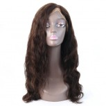 Hot Selling Natural Wave Brazilian Human Hair Full Lace Wigs FLW0011