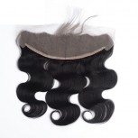 "Peruvian Lace Frontal Body Wave 13""*4""  Ear to Ear Full Frontal Lace Closure LC0058"