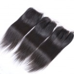 Peruvian Straight Virgin Hair 4*4 inch Lace Closure LC0077