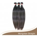 3pcs/lot Mongolian Straight Virgin Hair Bundles GD002
