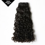 Double Drawn Water Wave Brazilian Virgin Hair Weave BRV006