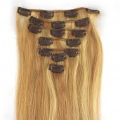 #18/613 Clip In Hair Extensions Straight CR004