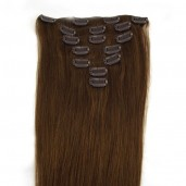 #6 Clip In Hair Extensions Straight CR0015