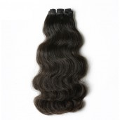 Double Drawn Brazilian Body Wave Virgin Hair Weave BRV001