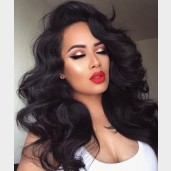 Body Wave Glueless Full Lace Wigs Brazilian Virgin Hair FLW004