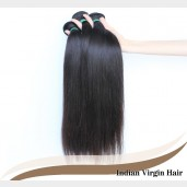 Straight Indian Virgin Hair 100% Human Hair Weave IV001