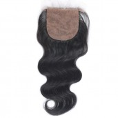 Brazilian Body Wave Silk Base Closure 4''*4'' LC0014