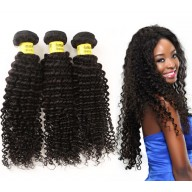 3pcs/lot Kinky Curly Brazilian Virgin Hair Weave Bundles BD003