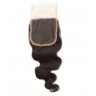 Brazilian Virgin Hair Body Wave Top Lace Closure LC007