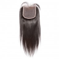 4''*4'' Straight Lace Closure Virgin Brazilian Hair LC008