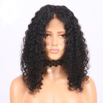 Bob Curly 13x6 Deep Part Lace Front Human Hair Wigs LFW0107