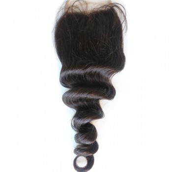 Brazilian Loose Wave Virgin Hair Lace Closure LC0018