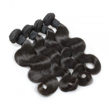 4pcs/lot Virgin Brazilian Hair Weave Bundles Body Wave BD0060