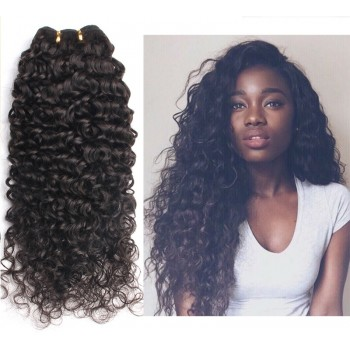 100% Cuticle Intact Brazilian Curly Virgin Remy Hair Weave BRC005