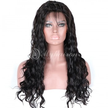 Loose Curl High Density 360 Lace Frontal Wigs 100% Brazilian Hair WLC360