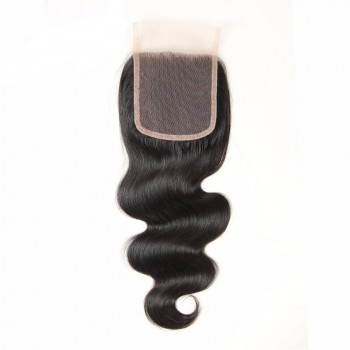 Malaysian Body Wave Virgin Hair 4*4 inch Lace Closure LC0082